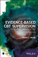 Evidence-Based CBT Supervision