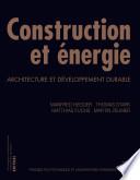 Construction et   nergie