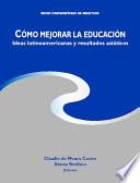 Cómo mejorar la educación
