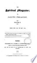 The Spiritual magazine; or, Saint's treasury. [Continued as] The Spiritual magazine, and Zion's casket
