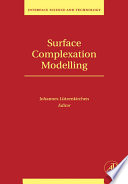 Surface Complexation Modelling book