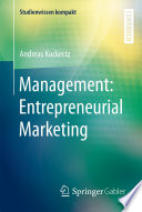 Management  Entrepreneurial Marketing