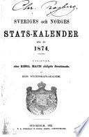 Sveriges och Norges stats-kalendar
