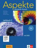 Aspekte 2  B2    Lehrbuch mit DVD