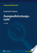 Heiderhoff/Skamel, Zwangsvollstreckungsrecht
