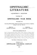 The Ophthalmic Year Book : ...