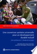 Une couverture sanitaire universelle pour un d  veloppement durable inclusif