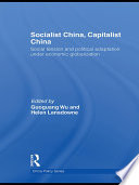 Socialist China  Capitalist China