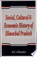 Social, Cultural, and Economic History of Himachal Pradesh