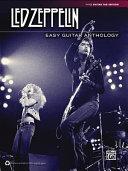 Book Led Zeppelin Easy Guitar Anthology
