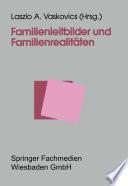 Familienleitbilder Und Familienrealit Ten