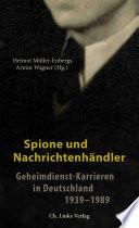Spione und Nachrichtenhändler