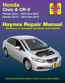 Honda Civic 12 15 Cr V 12 16