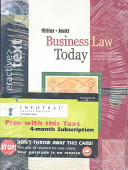 Interactive Text  Business Law Today with Access Certificate and InfoTrac College Edition