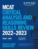 Mcat Critical Analysis And Reasoning Skills Review 2022 2023