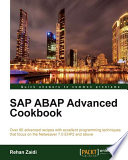 Sap Abap Advanced Cookbook