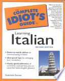 The Complete Idiot s Guide to Learning Italian