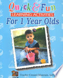 Quick   Fun Learning Activities for 1 Year Olds Book PDF