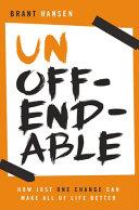 Ebook Unoffendable Epub Brant Hansen Apps Read Mobile