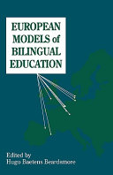 European Models of Bilingual Education