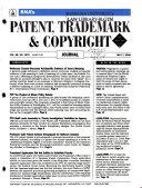 BNA s Patent  Trademark   Copyright Journal
