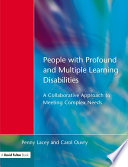 People with Profound   Multiple Learning Disabilities
