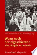 Wozu noch Sozialgeschichte?