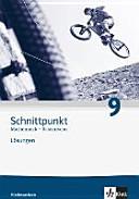 Schnittpunkt Mathematik   Ausgabe f  r Niedersachsen  L  sungen 9  Schuljahr   Basisniveau