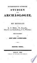 Hyperboreisch R Mische Studien F R Archaeologie Mit Beitr Von K O M Ller Th Panofka Otto B Von Stackelberg Hrsg Von Eduard Gerhard