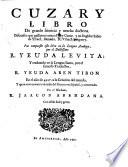 Cuzary libro de grande sciencia y mucha doctrina
