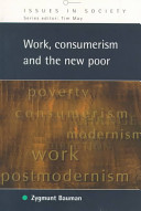 Work  Consumerism and the New Poor