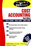 Schaum s Outline of Cost Accounting  3rd  Including 185 Solved Problems