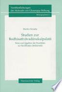 Studien zur Bodhisattvāvadānakalpalatā