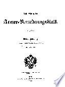 Kaiserlich-königliches Armee-Verordnungsblatt