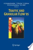 Traffic And Granular Flow 05 book