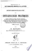 Dictionnaire manuel illustr   des connaissances pratiques