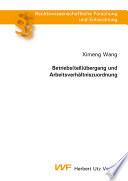 Betriebs(teil)übergang und Arbeitsverhältniszuordnung