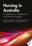 Nursing In Australia