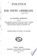 Politics for Young Americans Book PDF