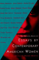 The Beacon Book Of Essays By Contemporary American Women book