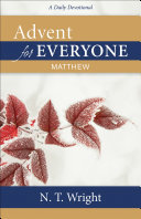 Advent For Everyone Matthew