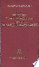 Deutsches Aerarium Poeticum oder Poetische Schatzkammer