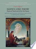 Dante s Lyric Poetry
