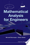 Mathematical Analysis for Engineers