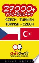 27000  Czech   Turkish Turkish   Czech Vocabulary