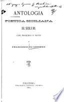 Antologia poetica siciliana del secolo XIX