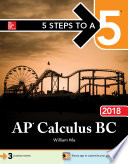 5 Steps to a 5  AP Calculus BC 2018