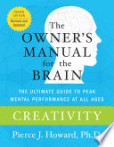 Creativity The Owner S Manual