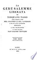 La Gerusalemme liberata  colle varianti e note di Michele Colombo e di G  Cavedoni  e con piu  altre illustrazioni