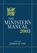 The Minister S Manual